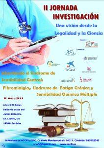 """""""II Jornada Investigación: Una visión de la legalidad y la ciencia"""""""