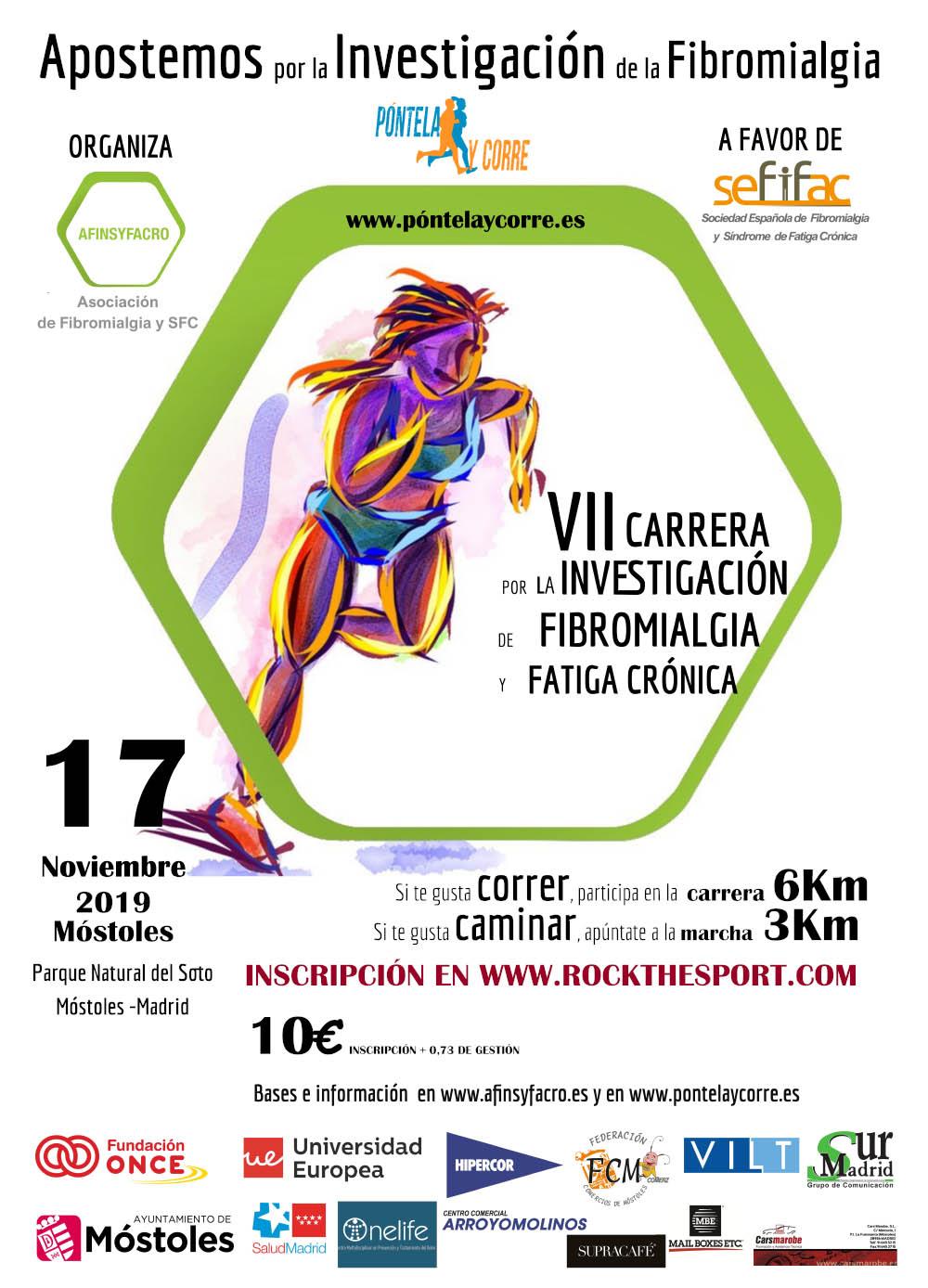AFINSYFACRO: VII Carrera por la Investigación en Fibromialgia y SFC