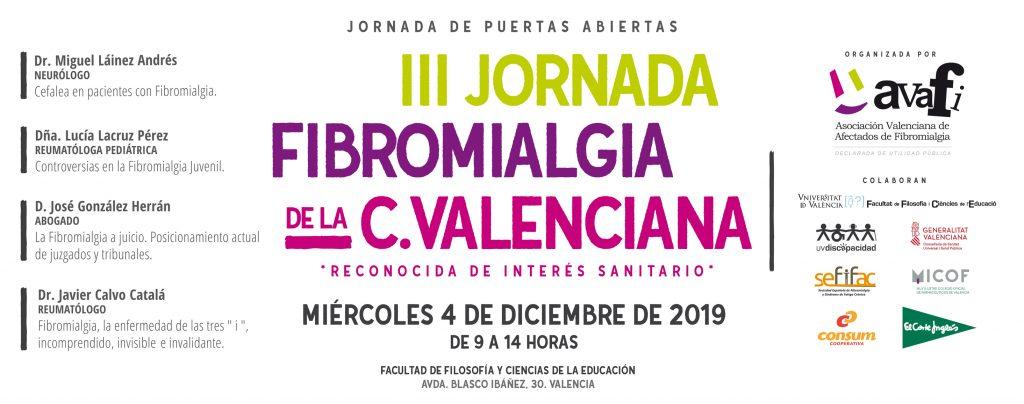 AVAFI organiza la III Jornada Fibromialgia de la Comunidad Valenciana