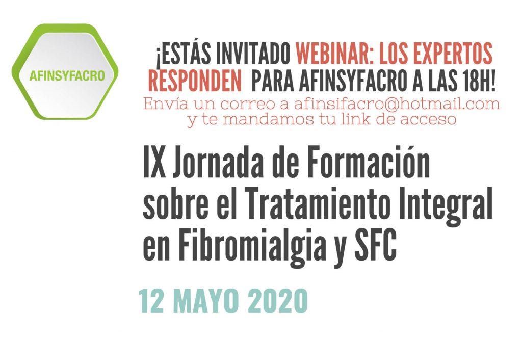 """""""IX Jornada de Formación sobre el Tratamiento Integral en Fibromialgia y SFC"""""""