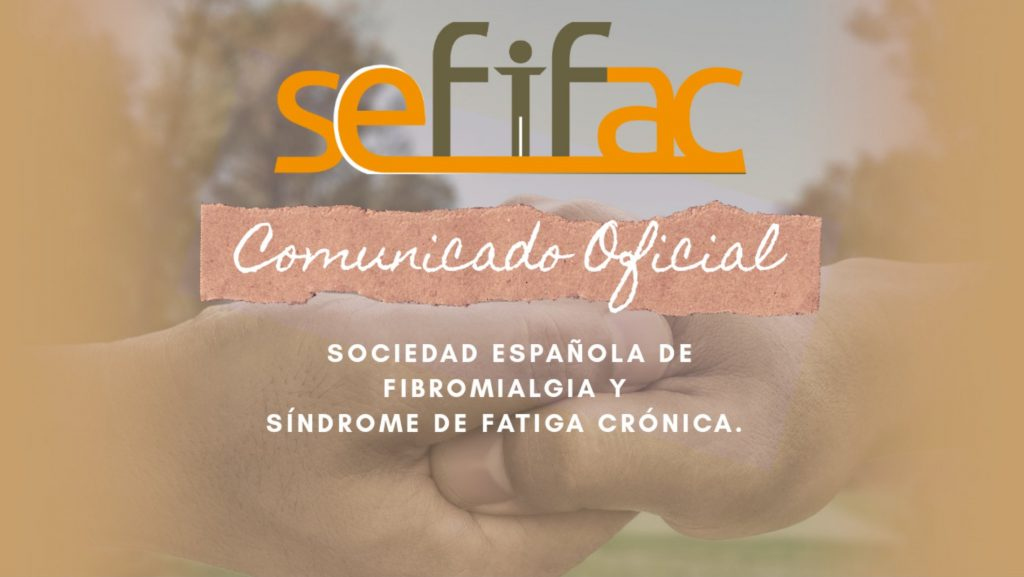 COMUNICADO OFICIAL: Rectificación sobre las declaraciones en Telecinco sobre las personas que sufren FIBROMIALGIA
