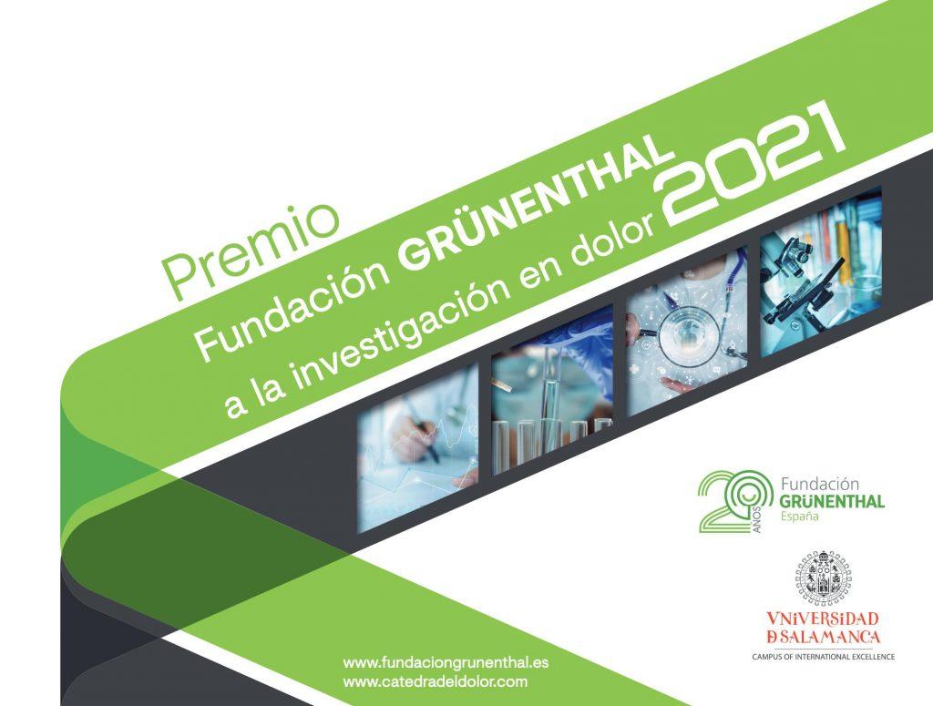 Premio Fundación GRÜNENTHAL a la investigación en dolor 2021